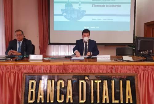 Banca D'Italia: «Le Marche la regione più colpita dagli effetti del covid»