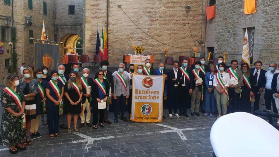 A Staffolo la cerimonia per la consegna della bandiera arancione 2020