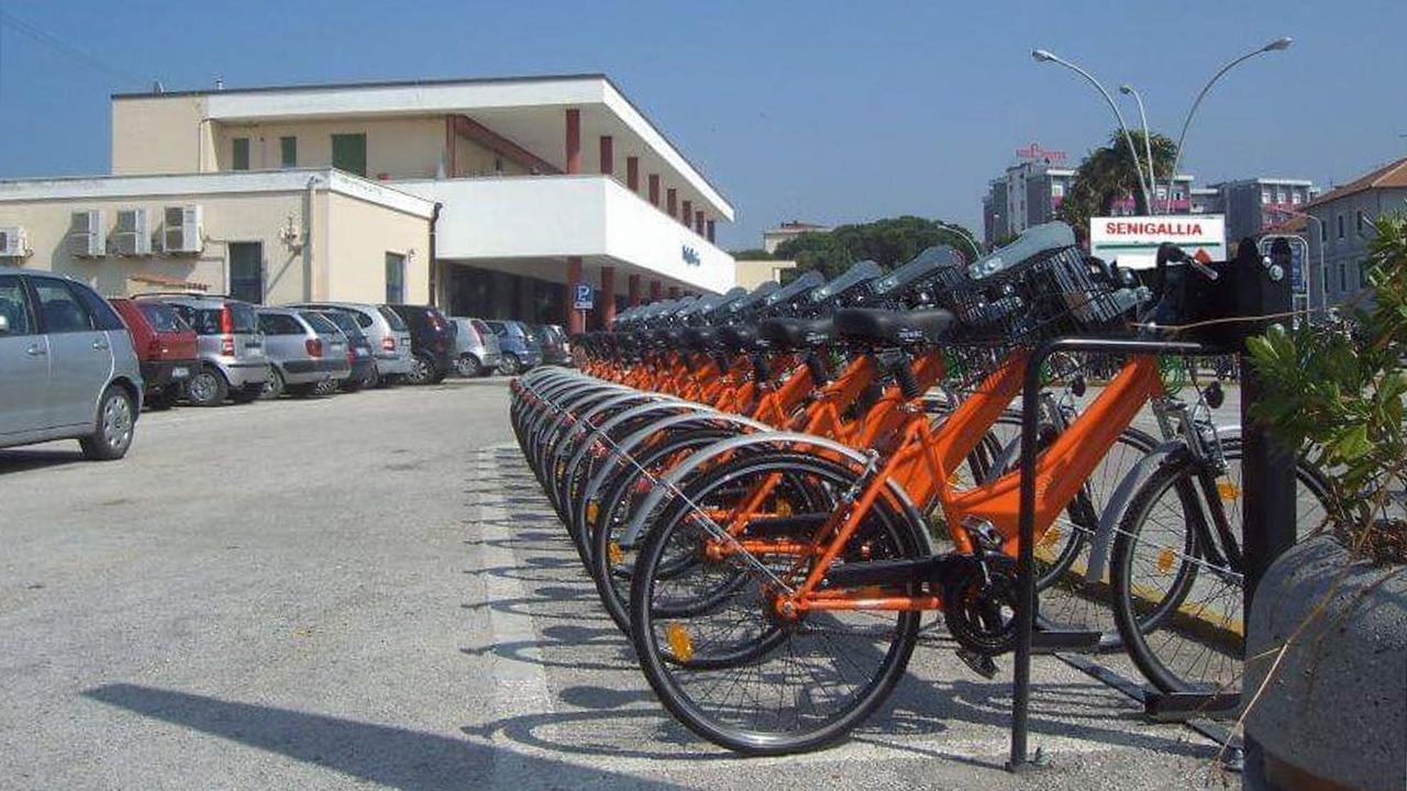 Il servizio di bike sharing a Senigallia