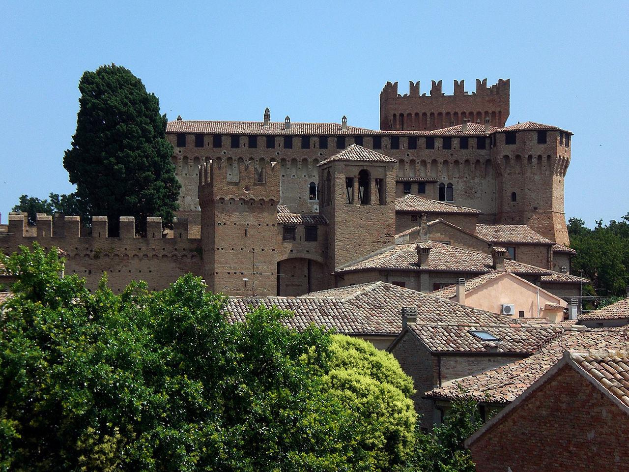rocca, castello, fortezza, Gradara,