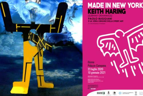 Mostra di Keith Haring a Osimo, in esposizione anche l'omaggio di un artista jesino