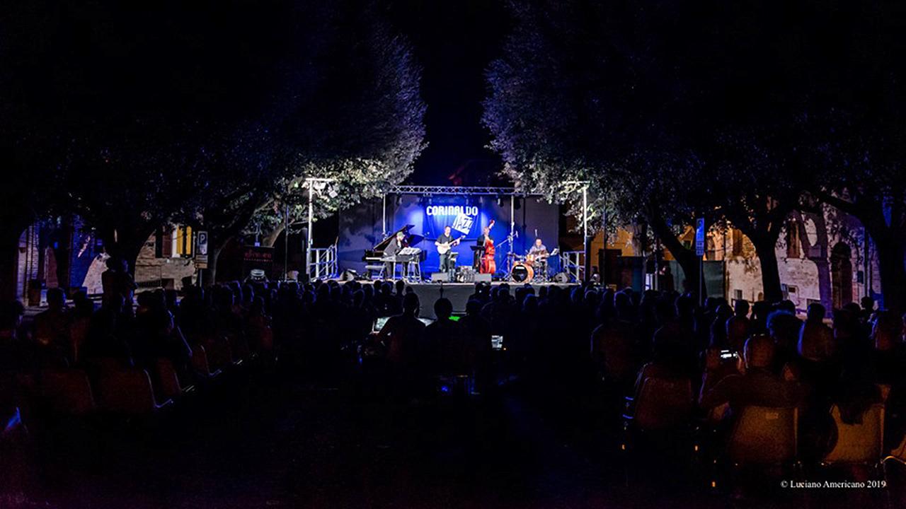 Uno degli eventi di Corinaldo Jazz, edizione 2019. Foto di Luciano Americano