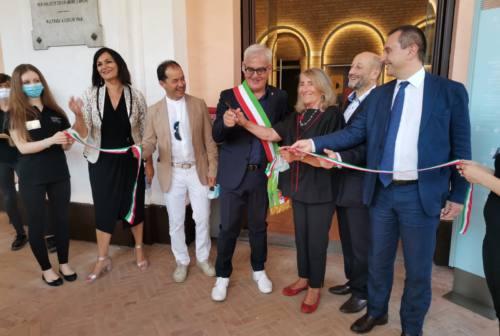 Lo Sferisterio omaggia Piero Cesanelli: «Da qui sarà testimone perenne»