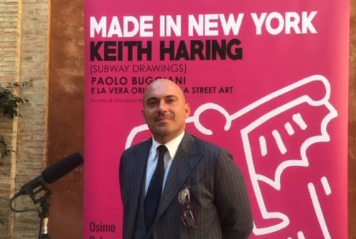 Osimo città italiana della street art con la mostra di Keith Haring – VIDEO