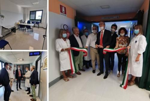 Inaugurato il nuovo reparto di allergologia a Civitanova Marche