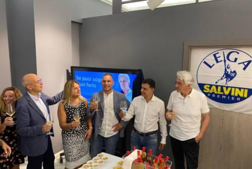 Macerata, Parcaroli inaugura la sua sede elettorale: «Voglio ascoltare e capire le ragioni di tutti»