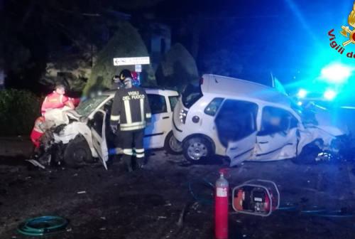 Violento incidente a Serra de' Conti: tre gravi, un uomo in pericolo di vita