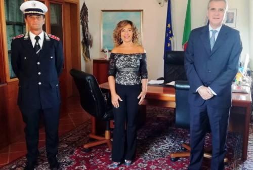 Falconara, il questore Pallini incontra il sindaco: focus su daspo urbano e sicurezza