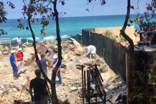 Spiaggia Bonetti, dissequestrata l'area dello chalet distrutto dall'incendio