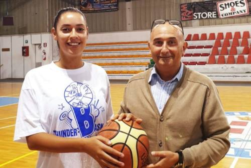 Basket, Thunder Halley  Matelica Fabriano ed Elisabetta Paffi ancora insieme