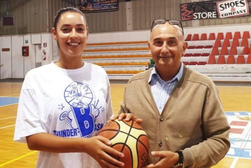 Basket, Thunder Halley  Matelica Fabriano ed Elisabetta Paffi ancora insieme