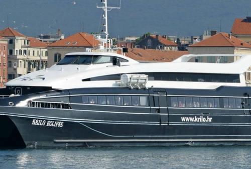 Catamarano veloce Pesaro-Croazia: pronta a salpare la stagione turistica