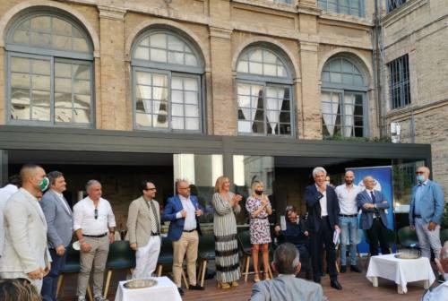 Macerata, centrodestra unito con il candidato Parcaroli: «Governerò con i maceratesi la città che amo»