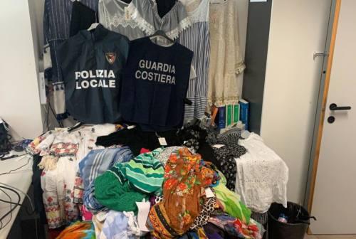 Pesaro, controlli anti abusivismo: fuggi fuggi e sequestri
