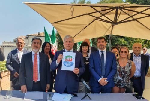 Regionali, Forza Italia apre le porte ai civici. Tajani: «Nelle Marche serve inversione di rotta»