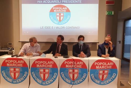 Elezioni regionali Marche, Saccone al fianco di Acquaroli: «Senza il centro non si vince, noi garanzia di governo stabile»