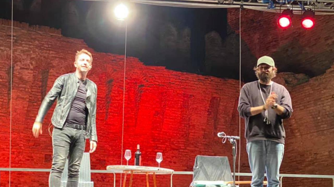 Andrea Scanzi e Filippo Graziani