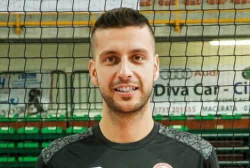 Volley, la Paoloni Macerata blinda lo schiacciatore Bernardo Calistri