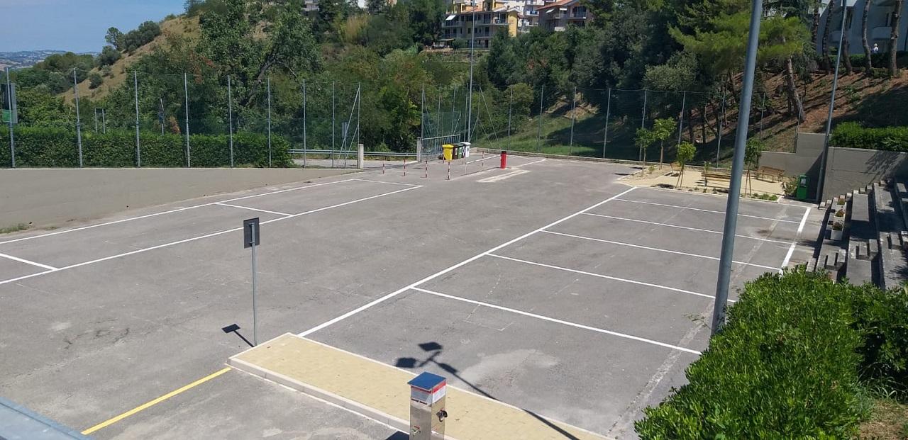 L'area camper di Castelfidardo