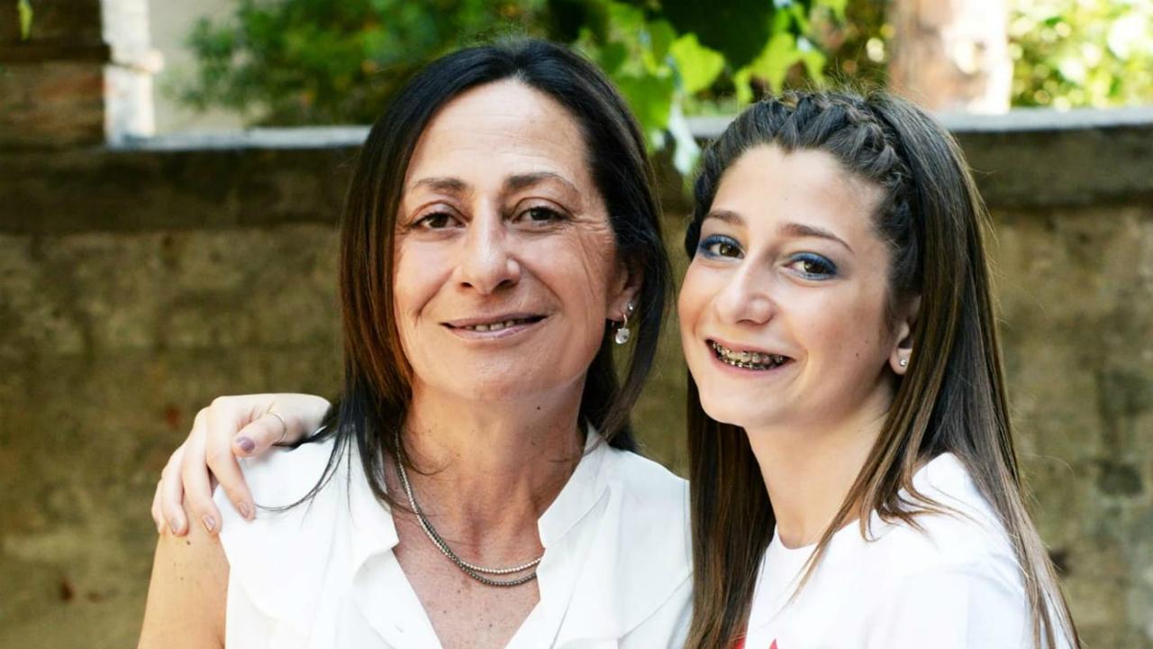 Cinzia Gregorini con la figlia Benedetta Vitali