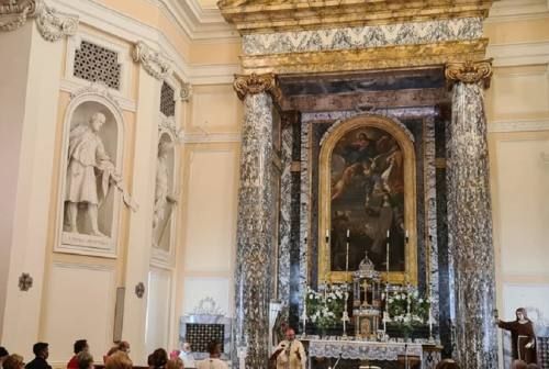 Osimo, riaperta dopo il restauro la chiesa del monastero delle Clarisse