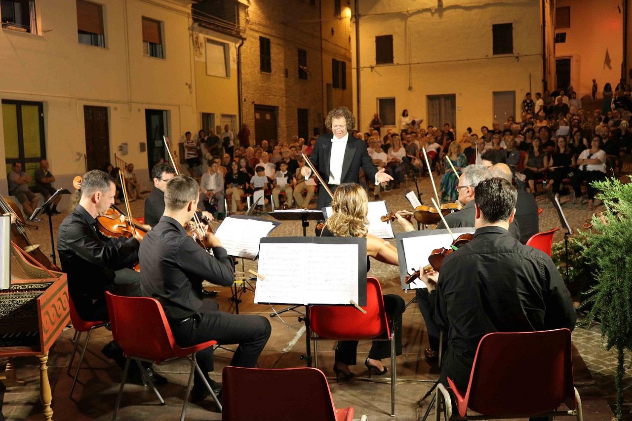 Un concerto del festival