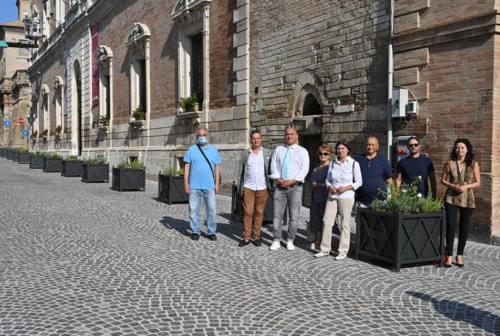 Osimo, il centro storico si rifà il look all'insegna della sicurezza