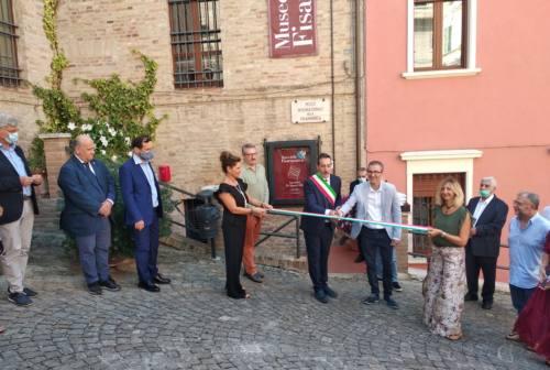 Castelfidardo, taglio del nastro per il rinnovato Museo della fisarmonica