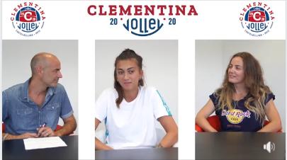 Alessandra Vidi schiaccerà per la Clementina 2020. Rinforzo in posto 4 per coach Secchi