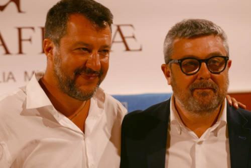 Elezioni comunali, Salvini a Senigallia: «Nessuna paura del centrosinistra»