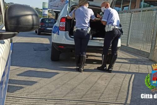 Osimo, il bilancio della Polizia locale nell'anno della pandemia: meno multe e più controlli
