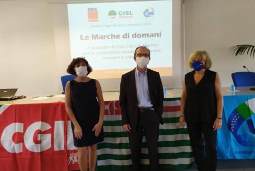 Lavoro, diritti, innovazione, sostenibilità e confronto: ecco le priorità di Cgil, Cisl e Uil per il rilancio delle Marche