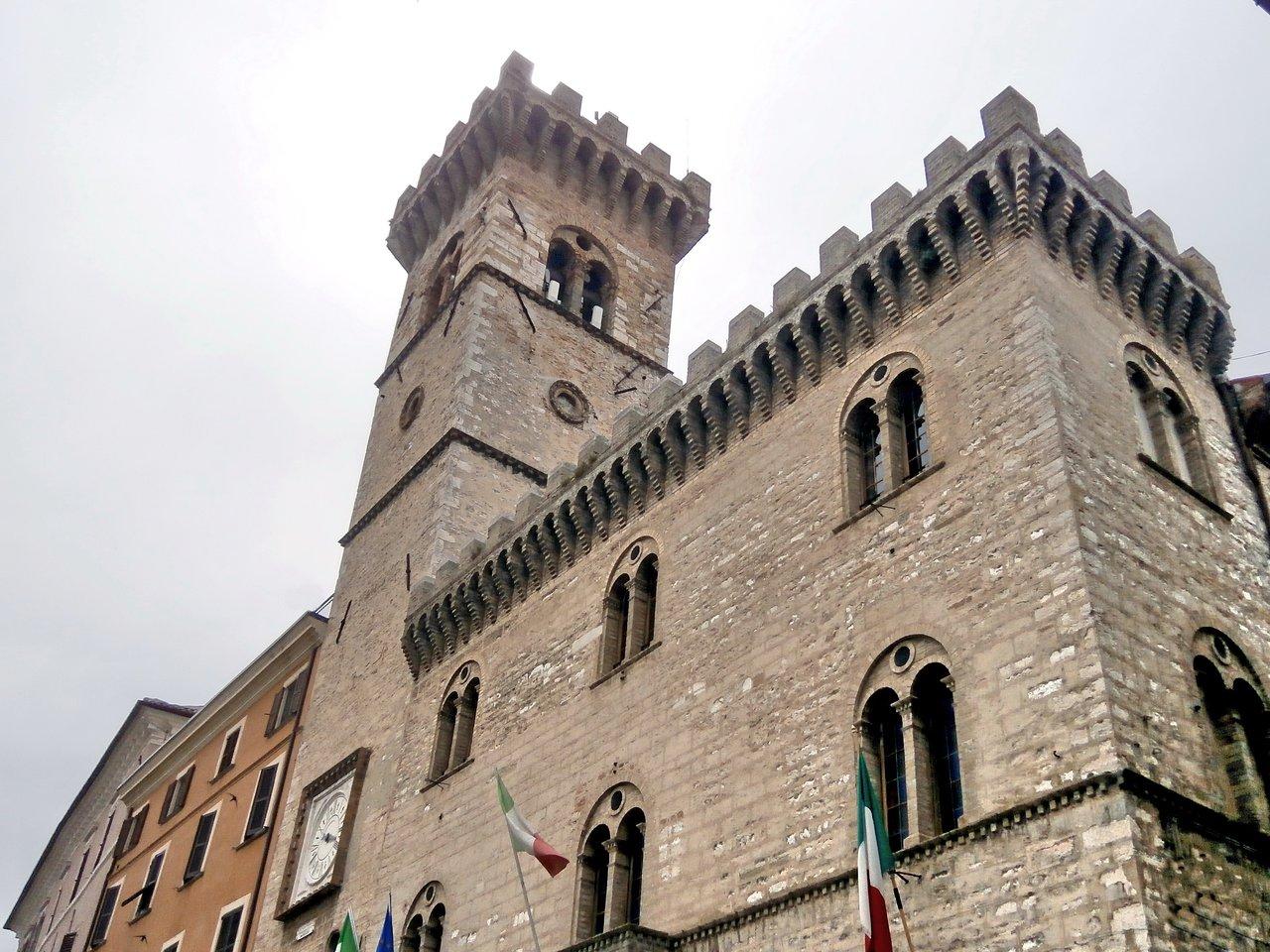 Palazzo dei priori ad Arcevia