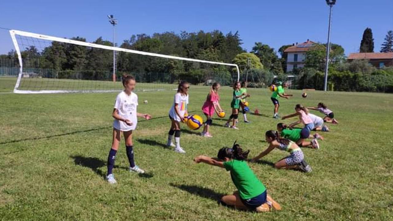 Mini volley e attività ludiche ai centri estivi ad Ancona