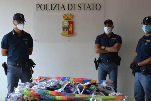 Senigallia, contrasto al commercio abusivo: sequestrati 500 giocattoli