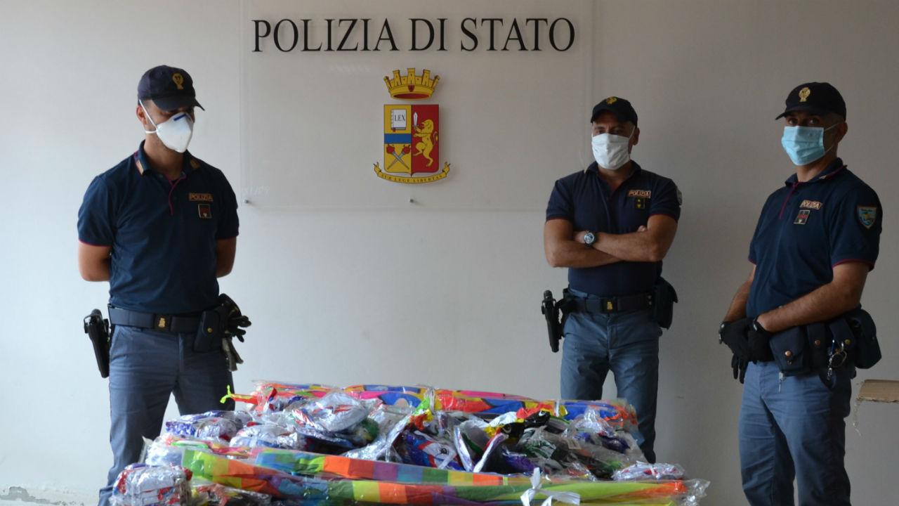 commercio abusivo: sequestrati oltre 500 giocattoli