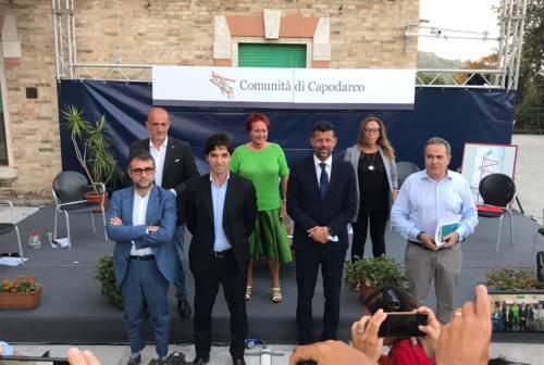 A Fermo i candidati alla presidenza della Regione Marche a confronto da Enrico Mentana