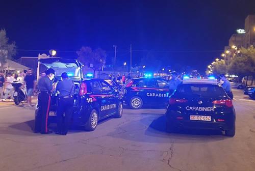 Oltre 500 persone controllate dei Carabinieri a Senigallia