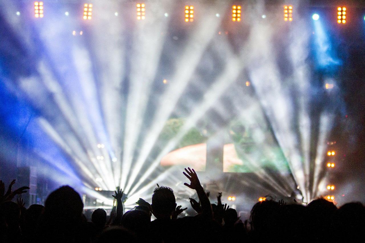 discoteca, concerto