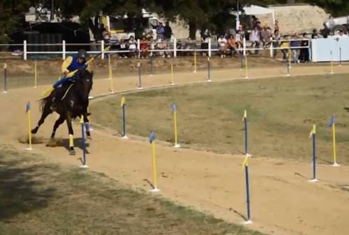 A Servigliano la Giostra dell'Anello, il primo torneo cavalleresco in epoca Covid