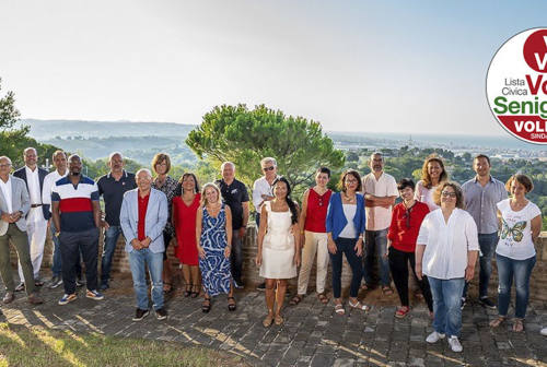 Vola Senigallia svela i 24 candidati a sostegno di Volpini