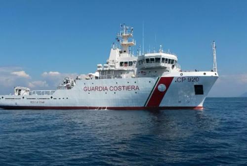 Pesca, mare Adriatico sorvegliato speciale con la nave Gregoretti della Guardia Costiera