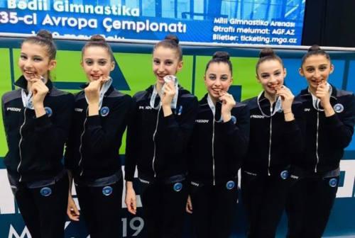 Fabriano ospita per un anno la Nazionale italiana Junior di ritmica