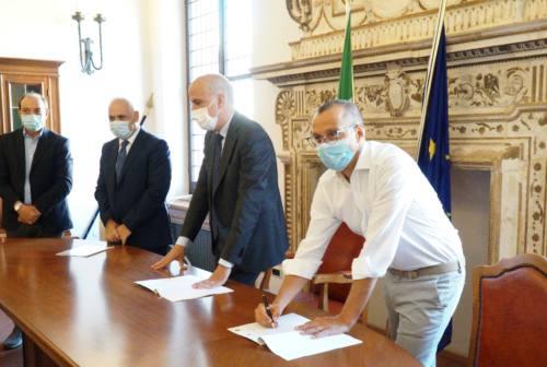 Pesaro, firmato il protocollo: nuova questura pronta entro il 2022 all'ex intendenza di finanza