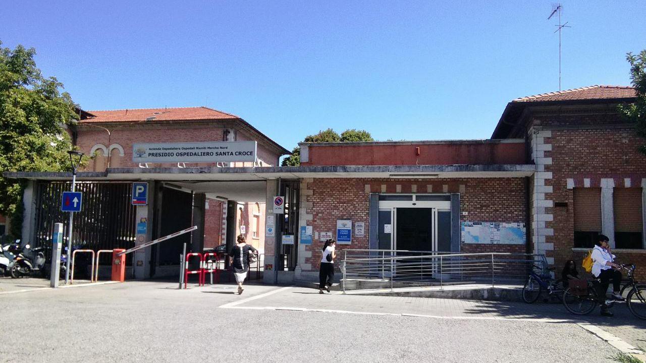 L'ospedale Santa Croce a Fano