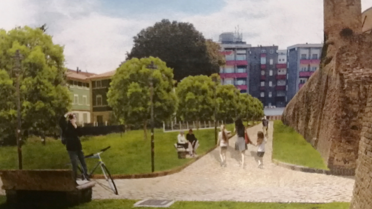 Il progetto di riqualificazione del parterre della Rocca roveresca di Senigallia