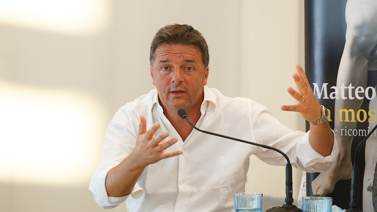 Matteo Renzi a Senigallia