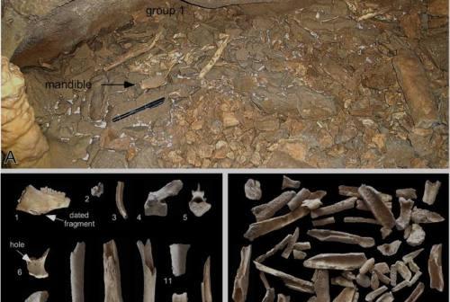 Genga, scoperta una grotta abitata dall'uomo 16.300 anni fa