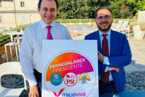 Italia Viva, Psi, civici e Demos insieme. Mangialardi: «Lista laico-progressista»