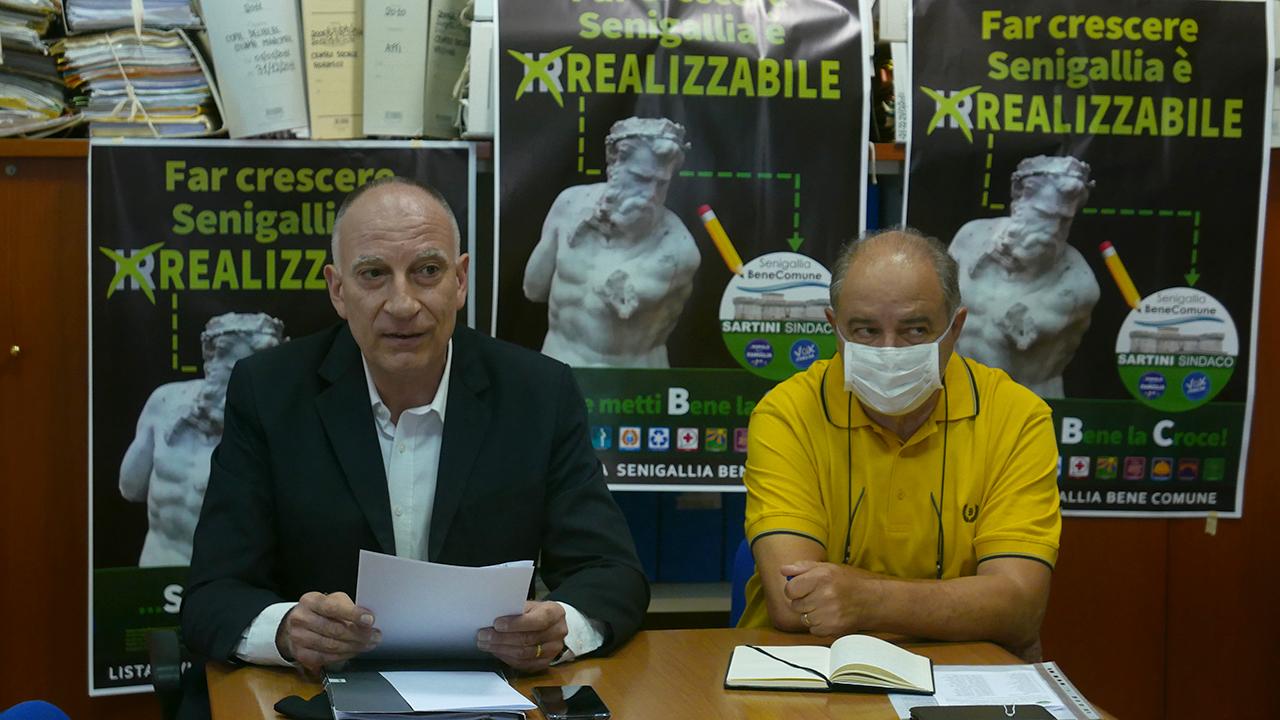 Paolo Molinelli e Giorgio Sartini
